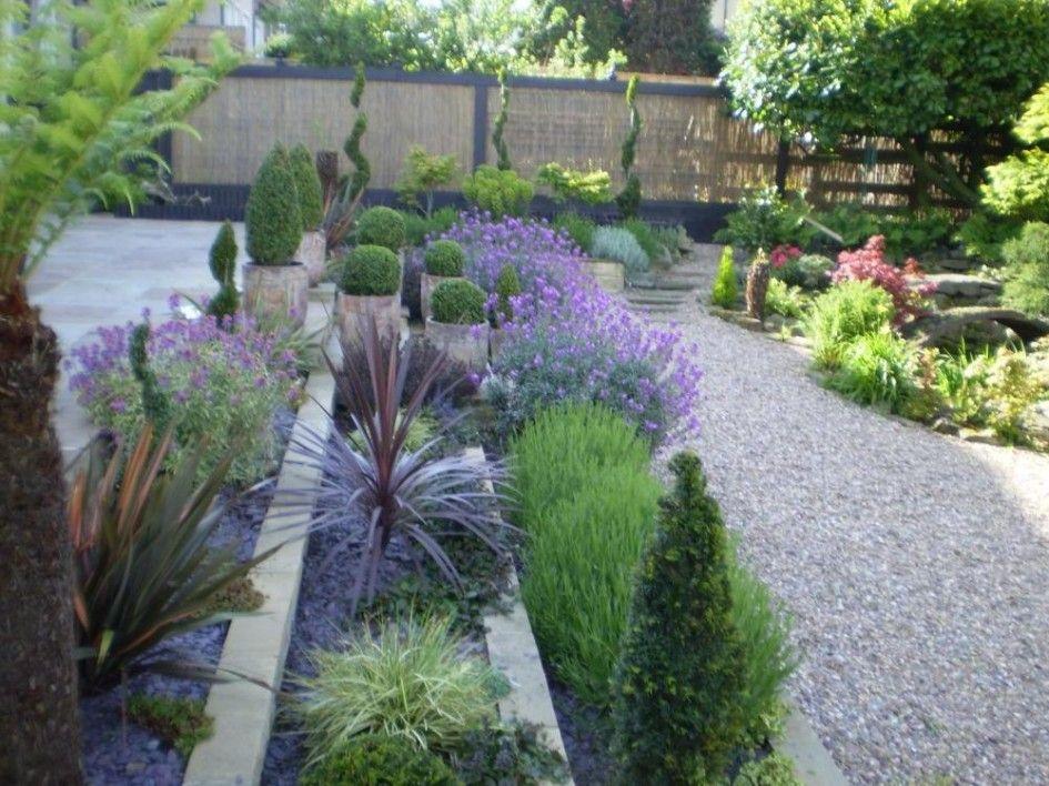 Garden Design, Small Backyard Ideas: Contemporary Beautiful Garden Design Ideas  Low Maintenance