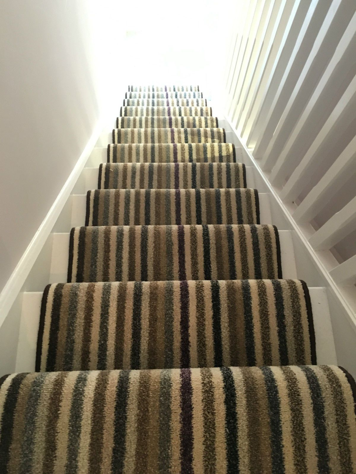 Best Stair Or Hall Carpet Runner Black White Grey Thick Pile 640 x 480
