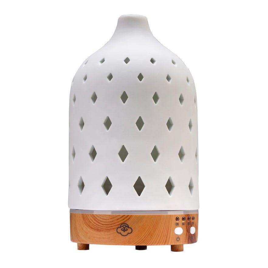 Serene House Nova Ultrasonic Essential Oils Diffuser White
