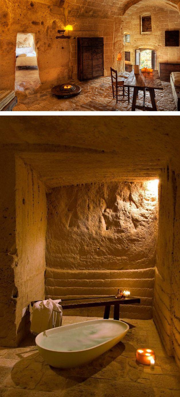 Le grotte della civita matera devincenti multiliving for Marche arredamento design
