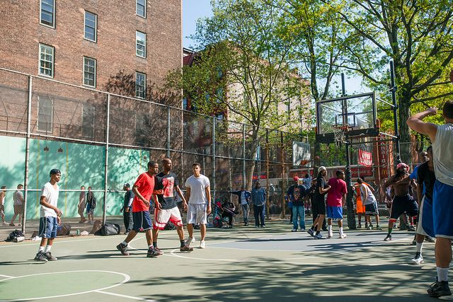 West 4th Street Courts The Cage Street Basketball Basketball History 4th Street