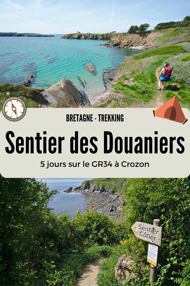 5 jours de randonnée en Bretagne pour faire le tour de le presqu'île de Crozon! Un sentier sublime qui suit le fameux GR34 aussi appelé le sentier des douaniers qui longe toute la côte bretonne. Itinéraire photos et récits de notre trek de 4 jours. #roadtrip #road #trip #photos