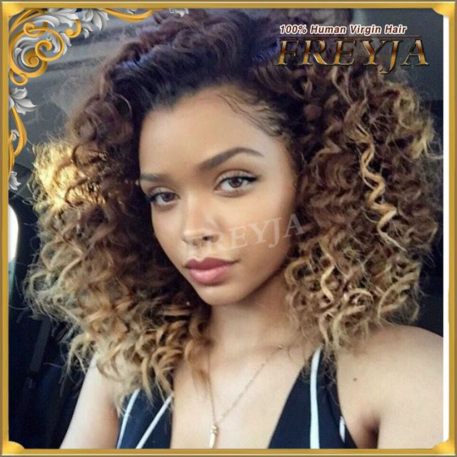 Mongolian Virgin Human Hair Wigs Full Lace Wigs Lace Frontal Wigs With Baby Hair Gluless Kinky Curly  UPart Wigs For Black Women