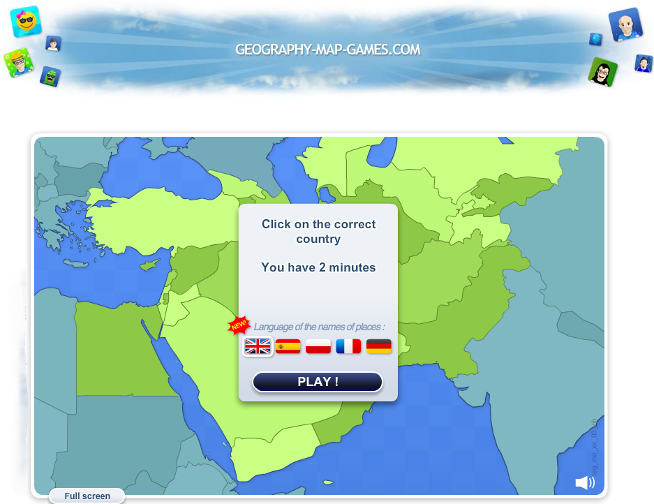 Geography map games improve your geography knowledges free online games and quiz about world geography gumiabroncs Gallery
