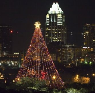 We love Austin's Zilker Holiday Tree with 3,309 lights! At ...