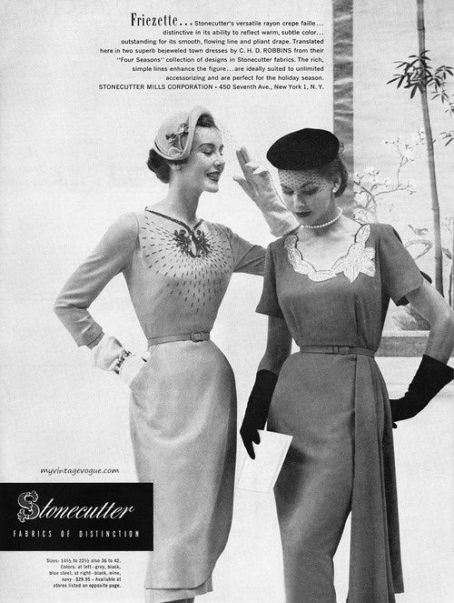 1951 - dresses by C H D Robbins