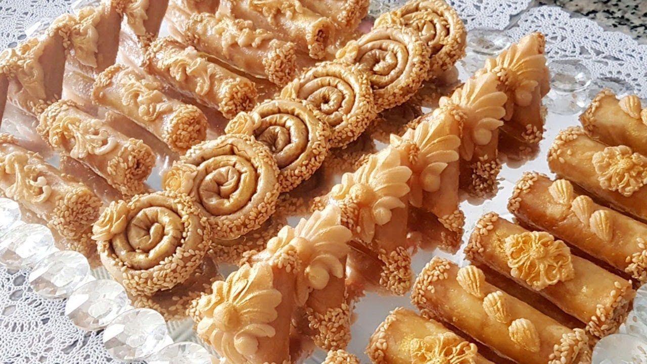 بلاطو حلويات مغربية تقليدية مقدمة بطريقة عصرية و مميزة جزء1 Moroccan Desserts Moroccan Cookies Moroccan Food