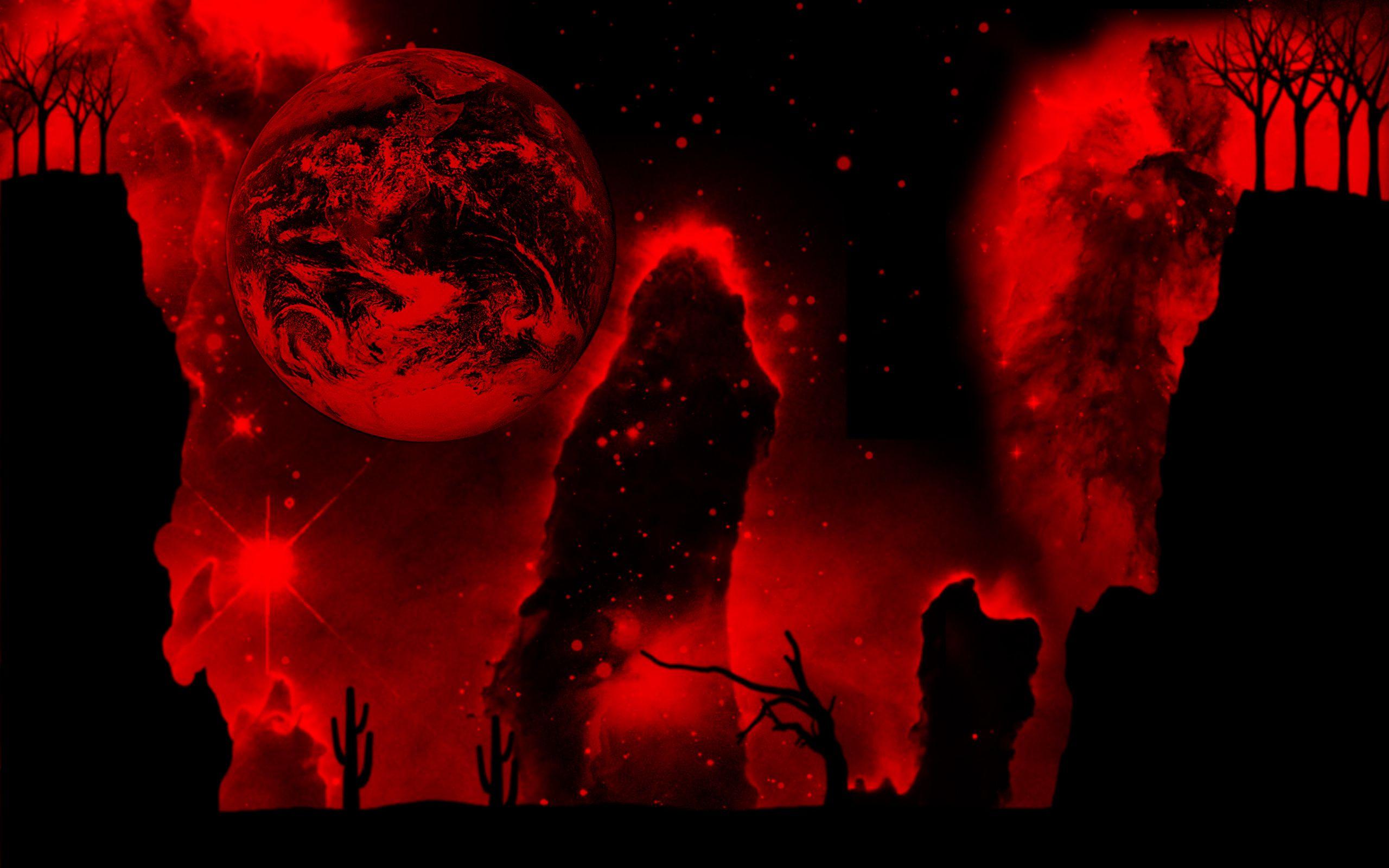 темные картинки кровавые