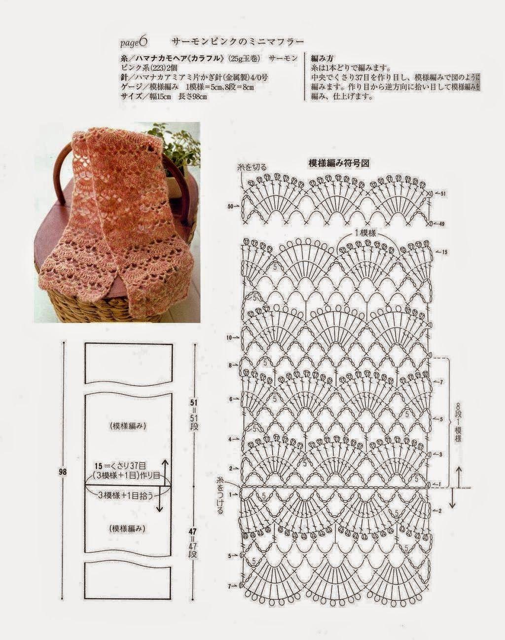 Click en las imágenes para ampliarlas | ideas crochet | Pinterest ...