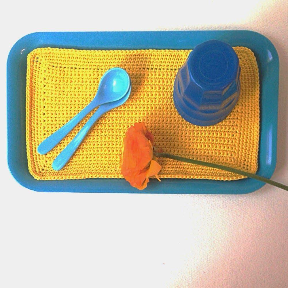 Isabelle Kessedjian: Un napperon tout simple pour les serial crocheteus...