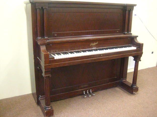 Packard Piano 1903 Packard Upright Piano S N 87385 Piano