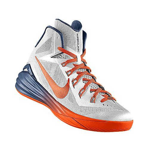 I designed the white Morgan State Bears Nike women's basketball shoe.