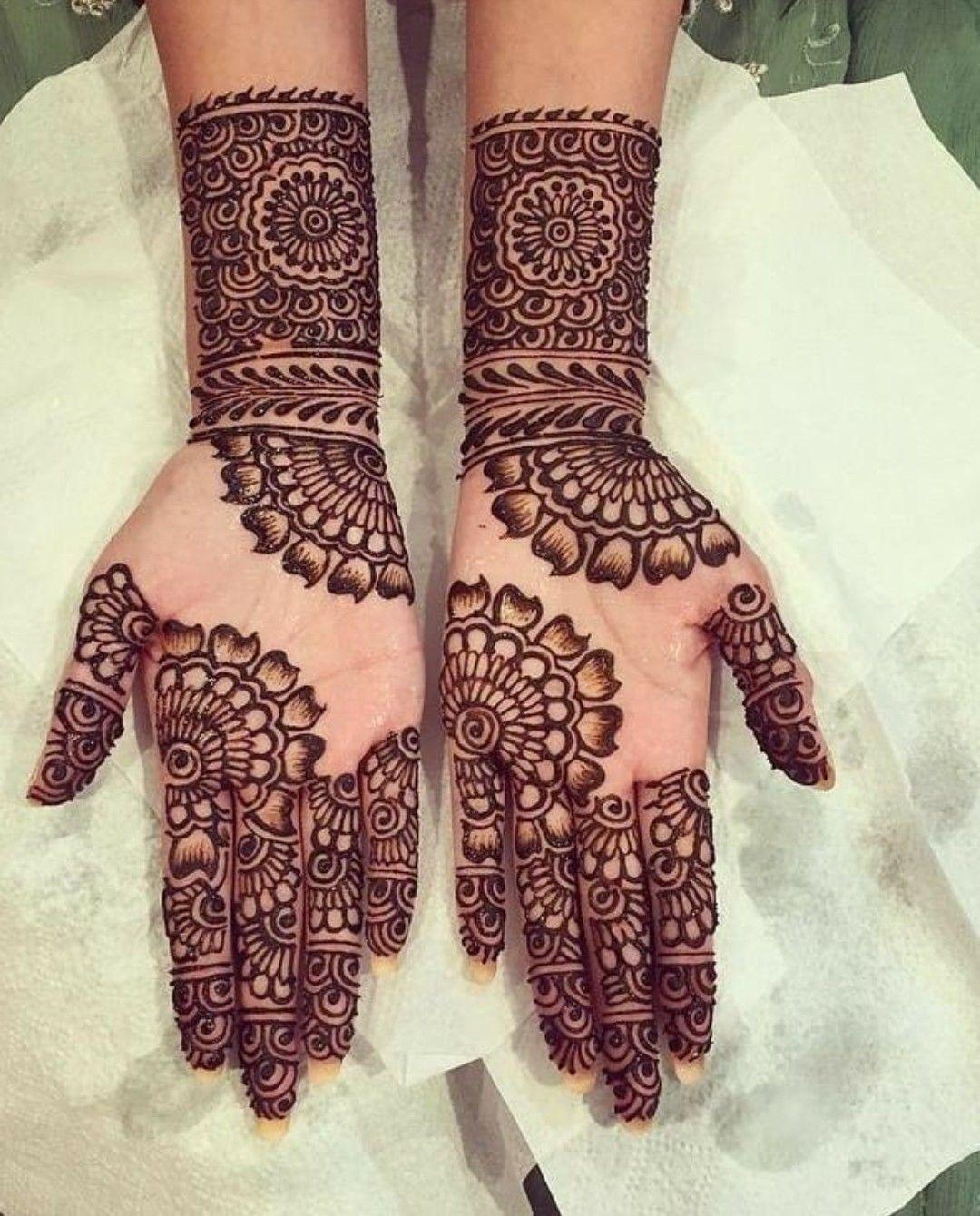 Fancy Latest Mehndi Front Hand Arabic Easy Mehndi Design