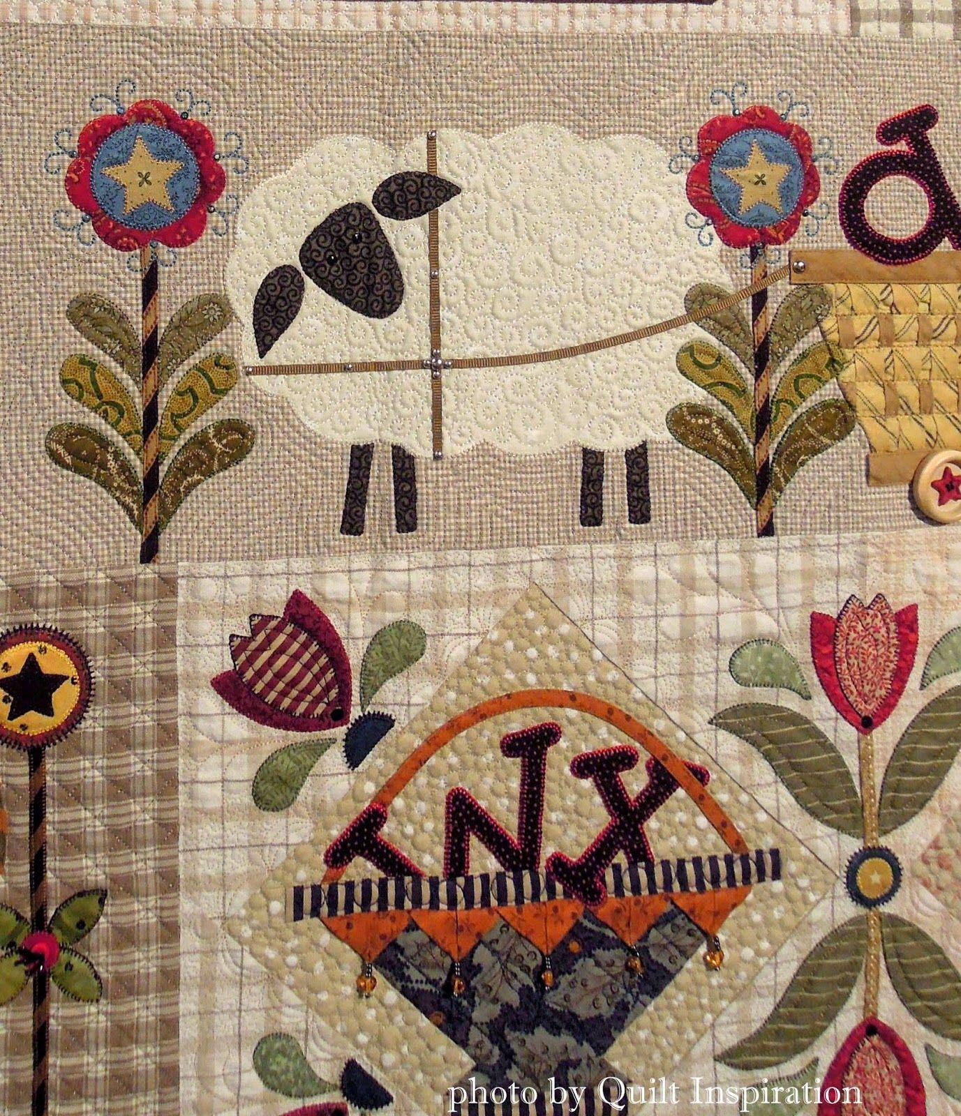 Fancy Folk Art Quilts