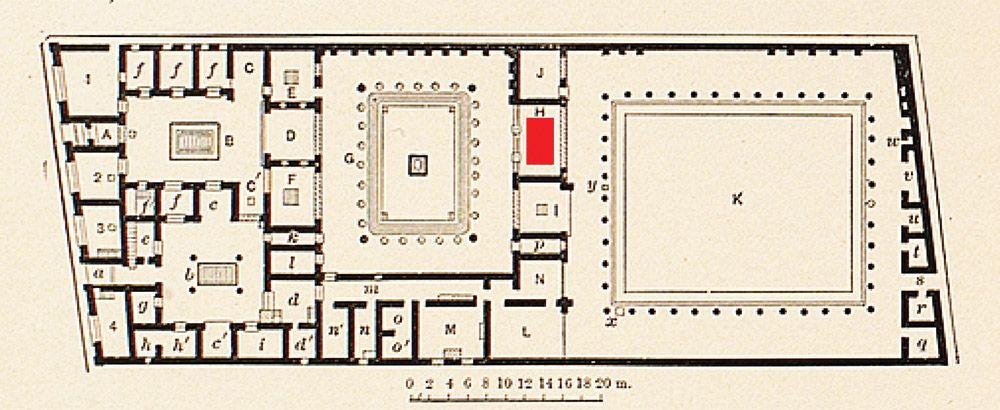 Casa del Fauno,Pompéi | Römische Wandmalerei | Pinterest | Pompeii ...