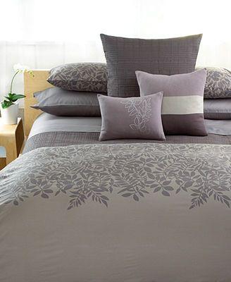 CLOSEOUT Calvin Klein Bedding Madeira Comforter And Duvet Cover Custom Calvin Klein Madeira Decorative Pillow