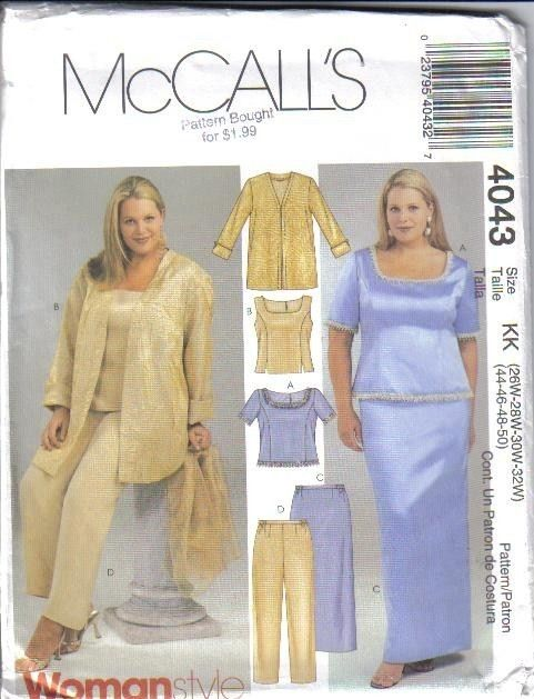 Image result for plus size patterns for sewing | sew it | Pinterest ...