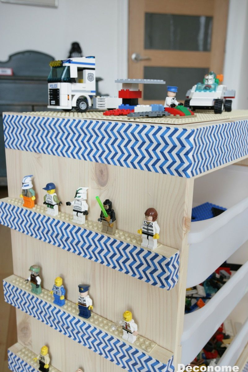 So Easy To Make An Ikea Lego Storage Cart Diy Lego Table Ikea