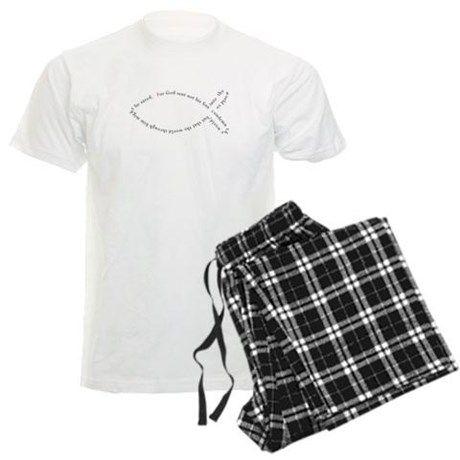 John 3:17 Ichthys Pajamas on CafePress.com