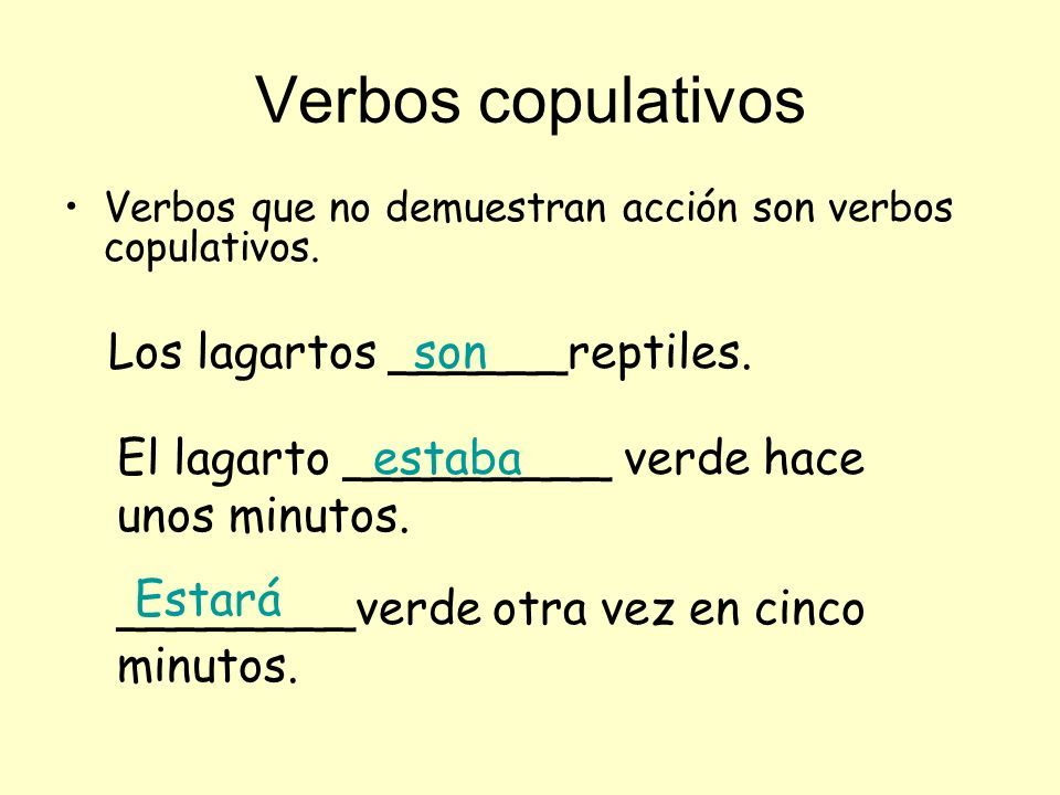 Verbos copulativos   Castellano   Pinterest   Verbos, Ortografía y ...