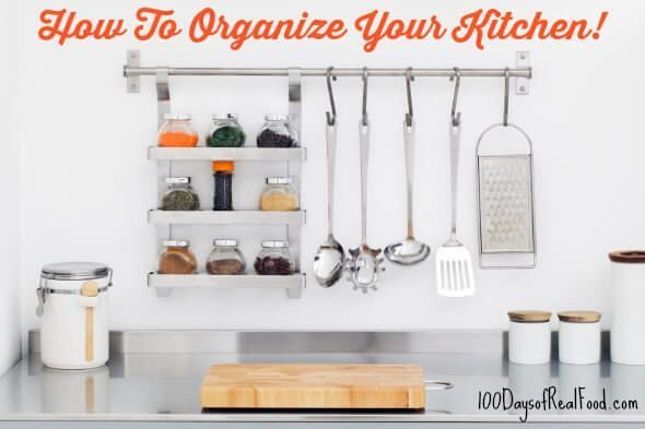 Real Food Tips: How To Organize You…