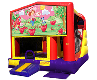 Strawberry Shortcake 4n1 Bounce House ComboPerfect for a