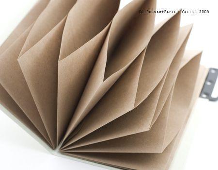 DIY :: Tutorial sobre cómo hacer una carpeta de acordeón de la vendimia. ==http://papiervalise.typepad.com/scissor_variations/2009/02/february-tutorial-vintage-office-keeping-folder.html