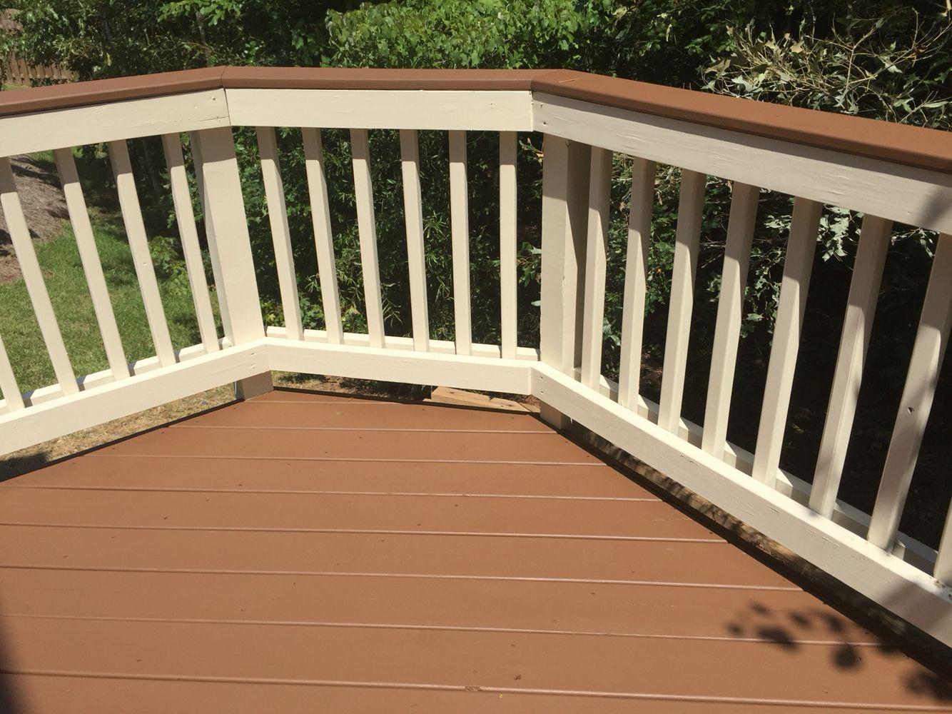 Sherwin Williams Deckscapes Stain In Pine Cone Deck Colors Staining Deck Deck Stain Colors