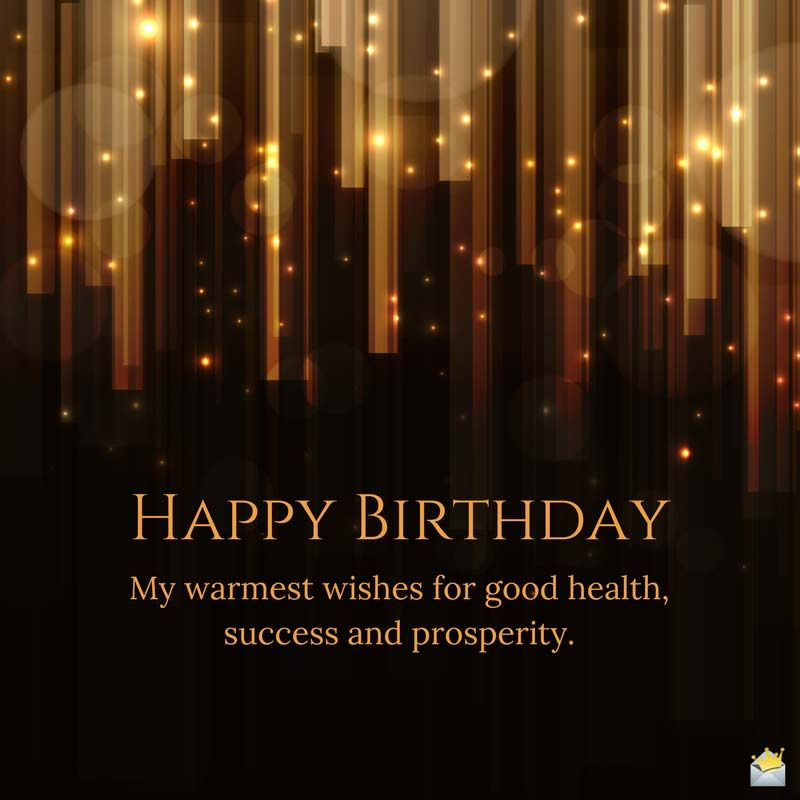 Birthday Wishes For My Boss Birthday Wishes For Myself Happy