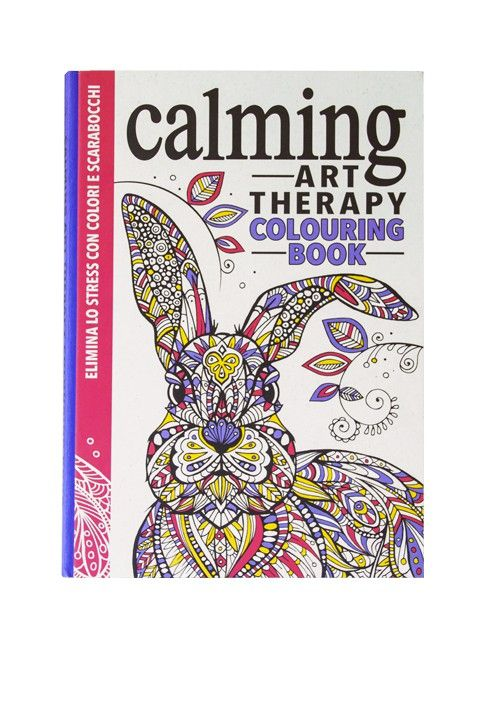 Calming Art Therapy Colouring Book L Ippocampo Edizioni Art Therapy Coloring Book Coloring Books Calm Art