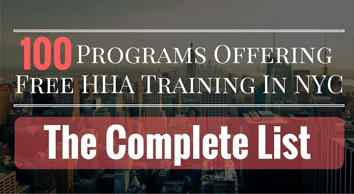 Free hha training in nyc the ultimate list of 100 free