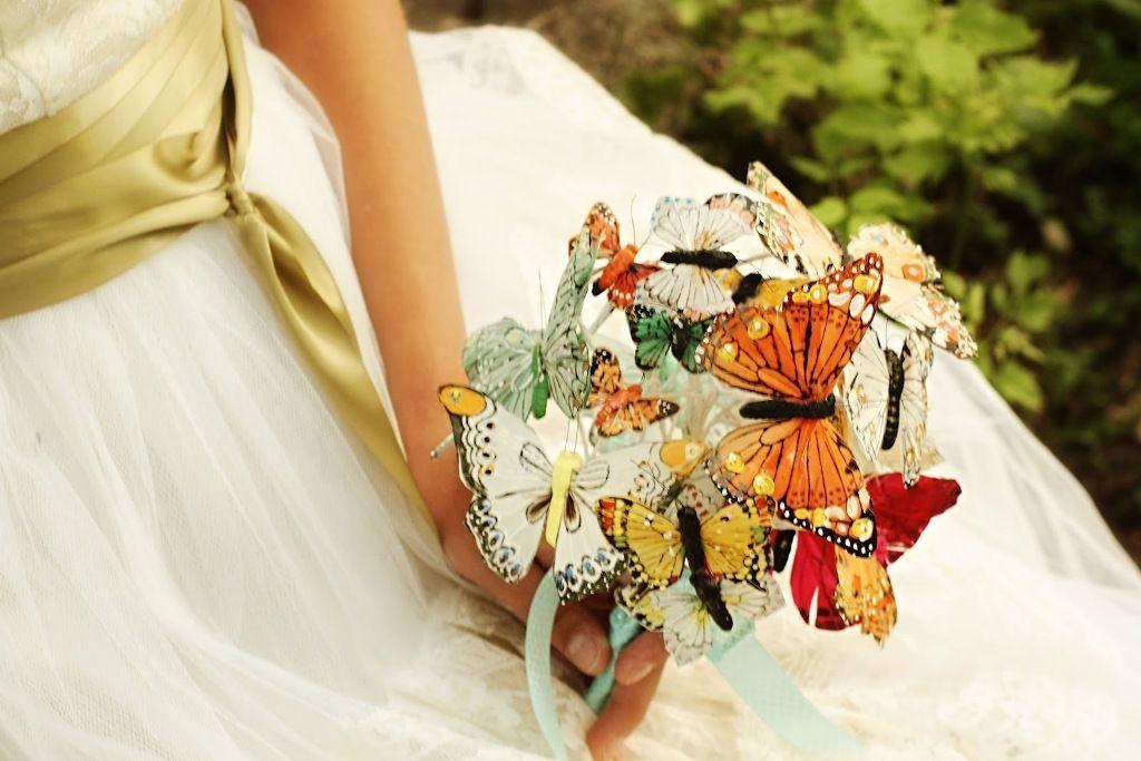 Top 10 Unusual Bridal Bouquet Ideas Butterfly Wedding Bouquet