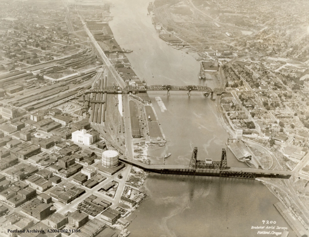 Willamette River, circa 1927 (With images) Willamette