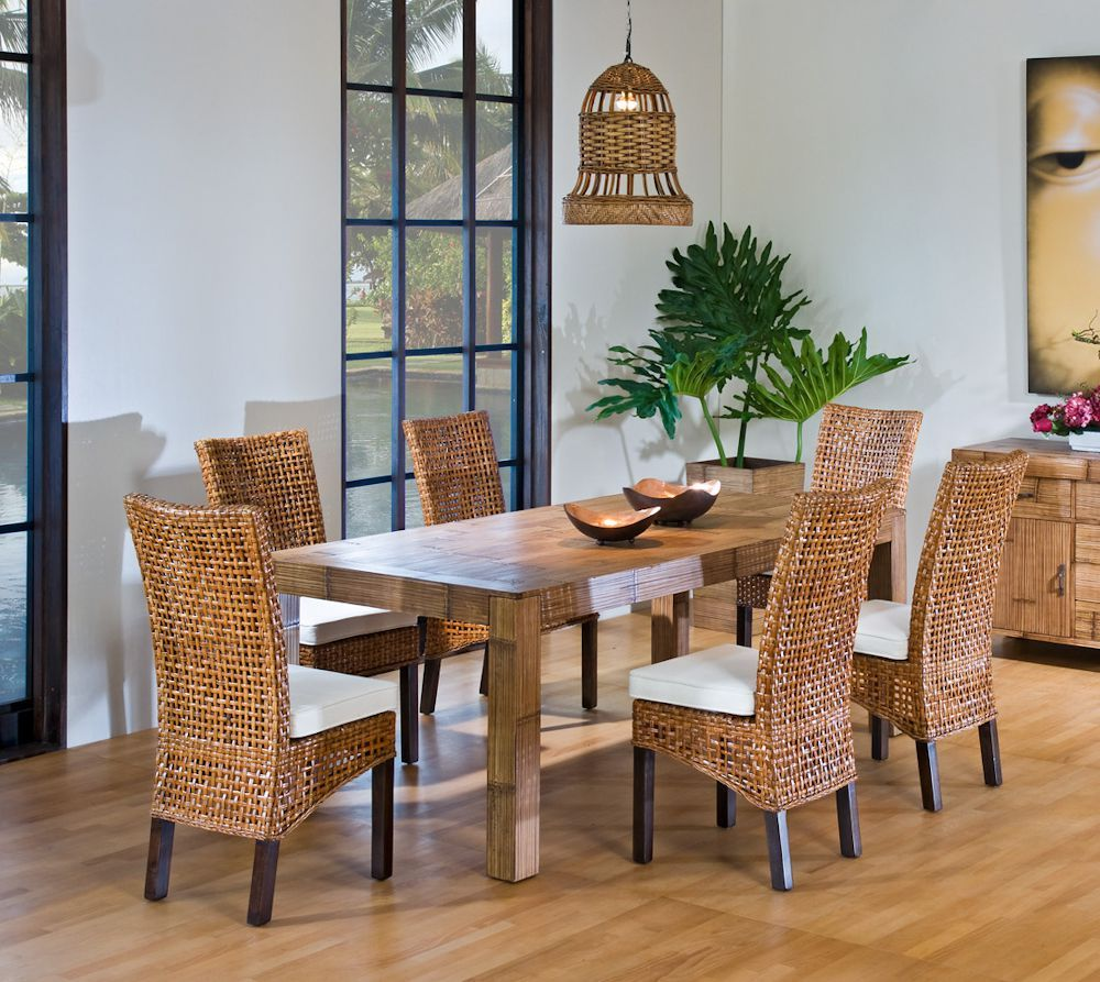 Rattan Dining Room Chairs Sale  Neubertweb  Home Design Custom Wicker Dining Room Sets Decorating Design