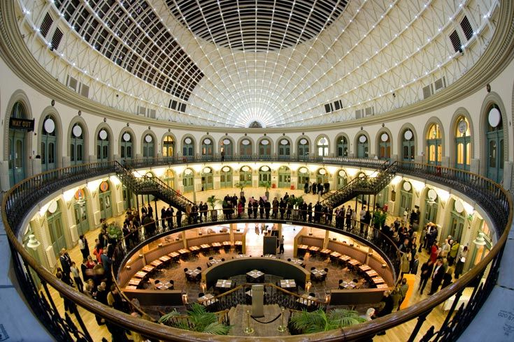 Piazza By Anthony Restaurant In Leeds Corn Exchange Leeds Corn Exchange Dinner Club Leeds