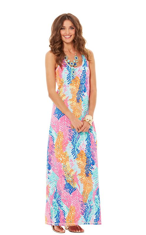 Betty Racerback Maxi Dress #MaxiDress #Racerback #Lily
