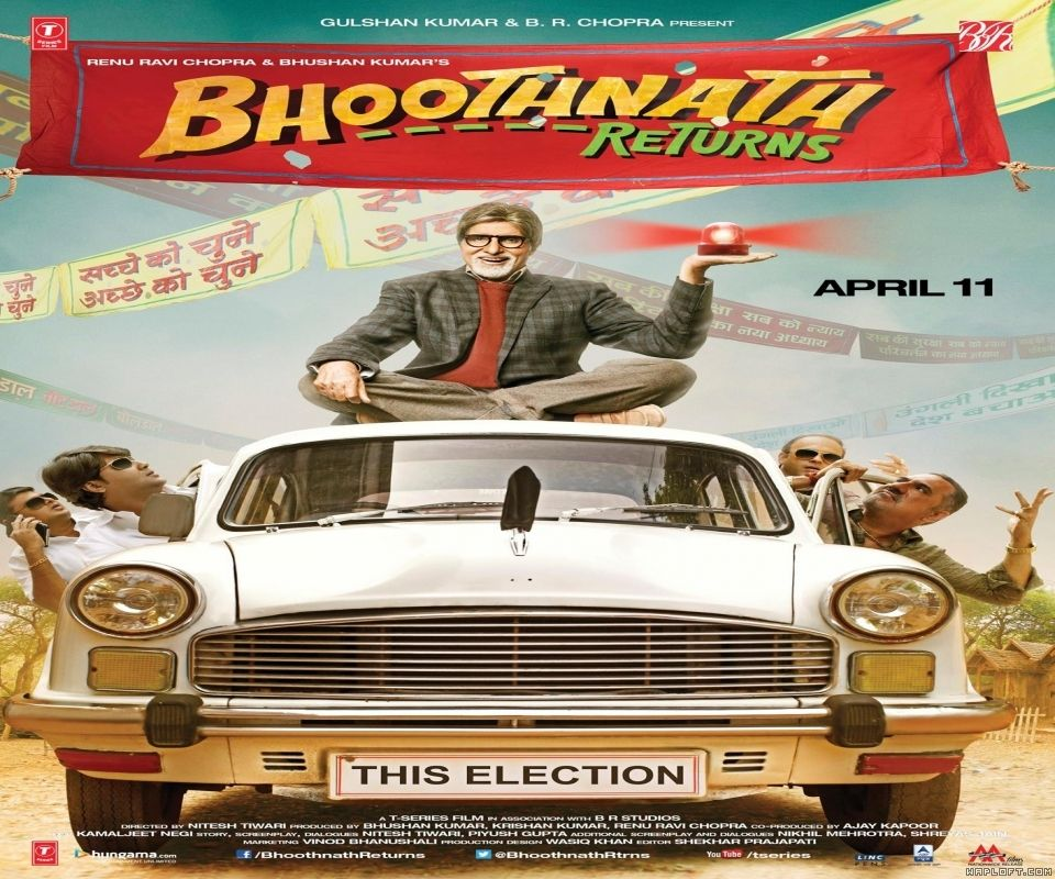 Bollywood Movie Poster Bhoothnath Returns By Wapking Cc Bollywood Hits Pinterest