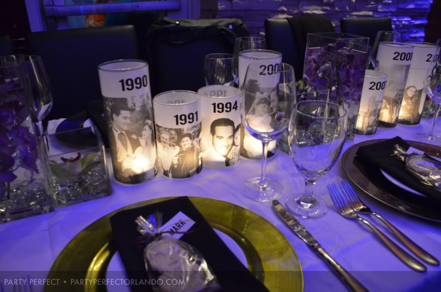 Timeline centerpiece Events Event Ideas Pinterest 50th