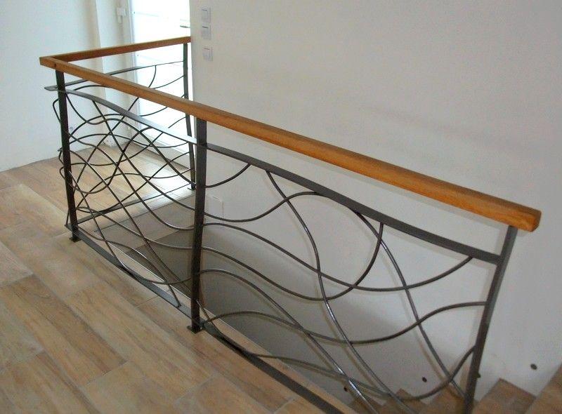 Garde Corps Int Reur Galerie Avant Pinterest Rampes Escaliers Et Rampe Escalier