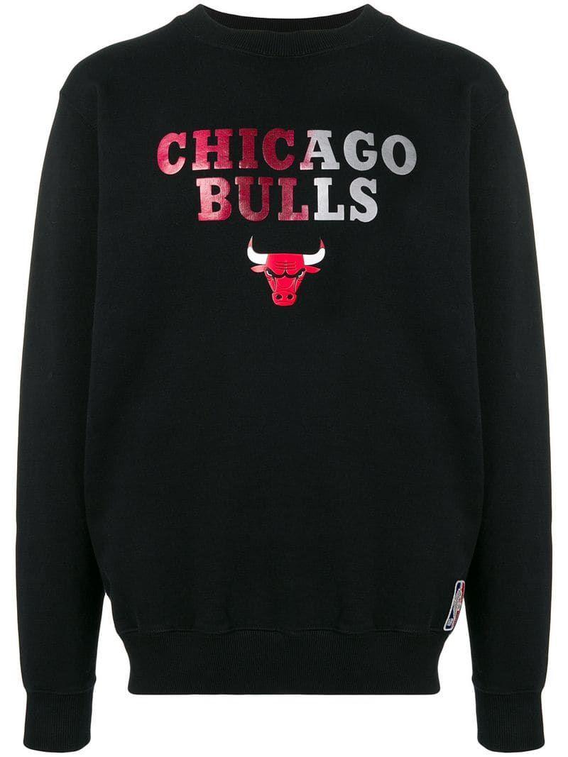 Marcelo Burlon County Of Milan Chicago Bulls Sweatshirt Farfetch In 2021 Polo Shirt Design Chicago Bulls Sweatshirt Sweatshirts [ 1067 x 800 Pixel ]