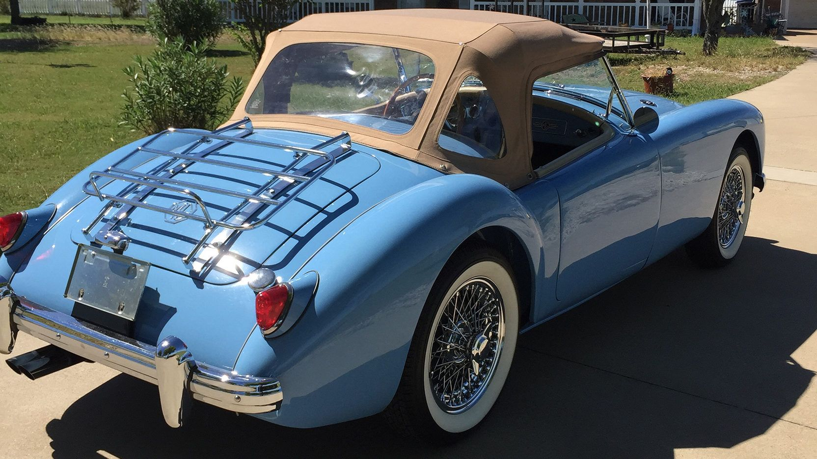 1957 MG A Roadster presented as Lot F216 at Dallas, TX | beautiful ...