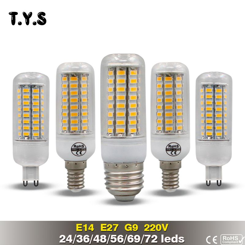 Compare Price LED Lamp Bulb E27 Bombillas LED 20W SMD 5730 Lamp E14