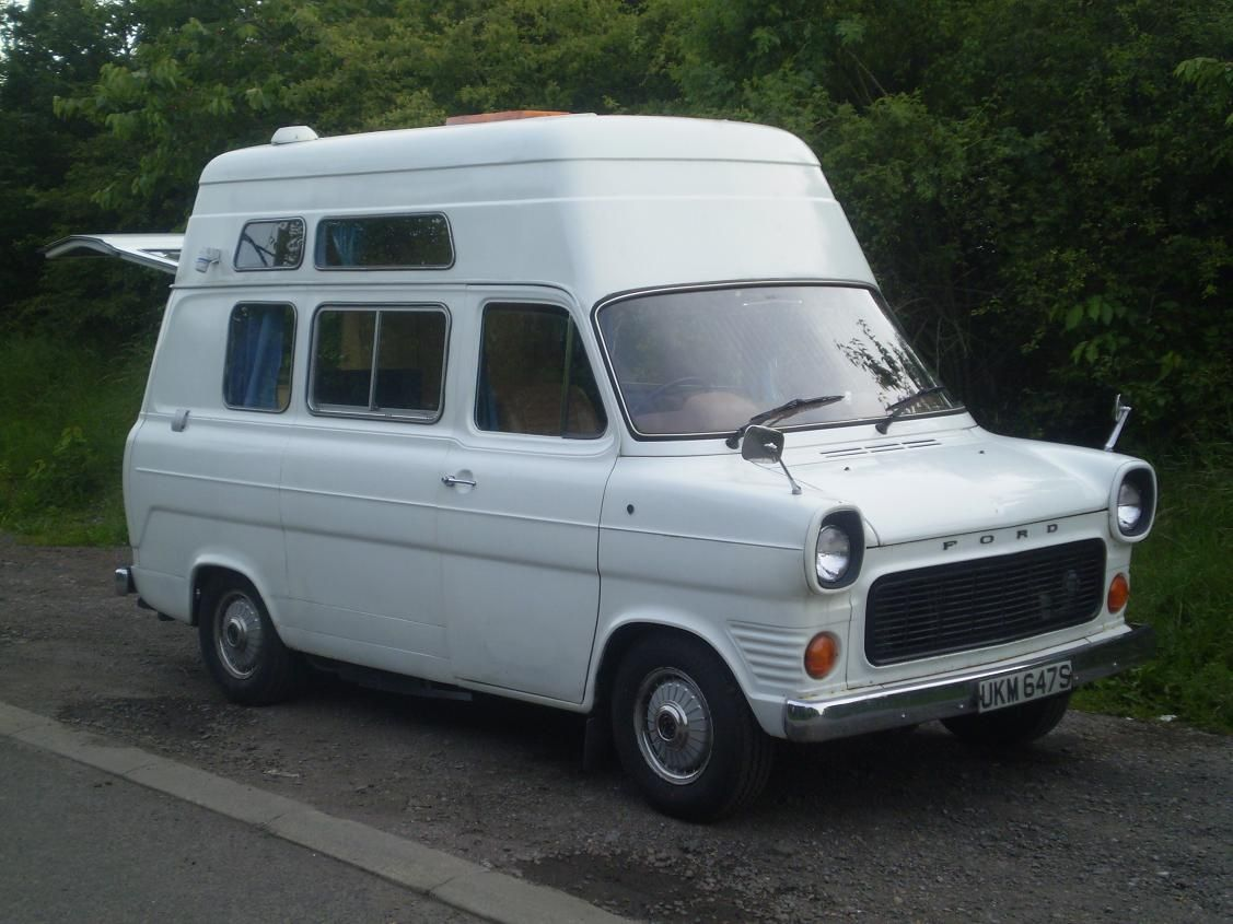 Camper Cars One Of My 1st Trips To Europe Involved Driving A Ford Transit