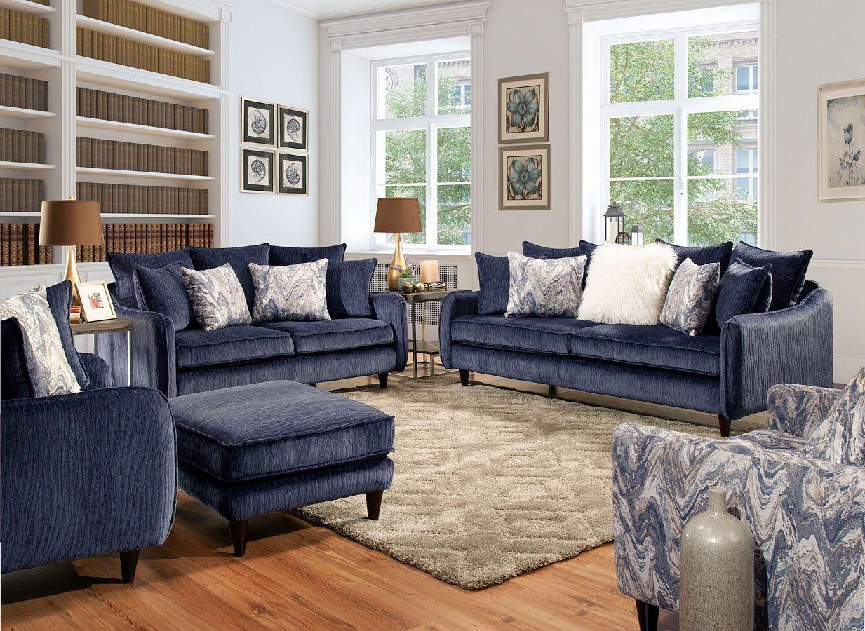 Everly Living Room Set in 2020 | Living room sets, Living ...