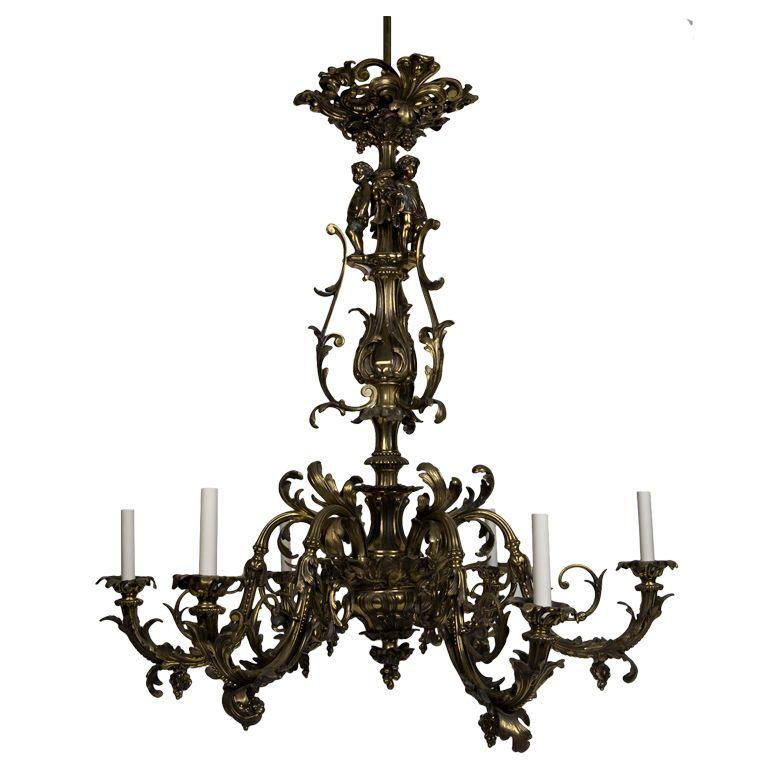 Rococo Chandelier Rh: Rococo Lighting