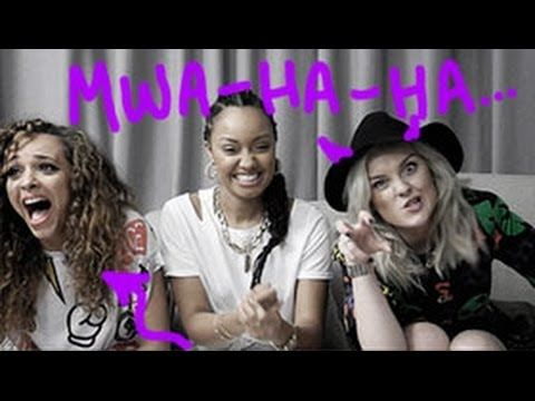 """Little Mix play The Scary Lyrics Game - YouTube I laughed way too hard at this. When Jade started singing """"Little Things"""" I lost it."""