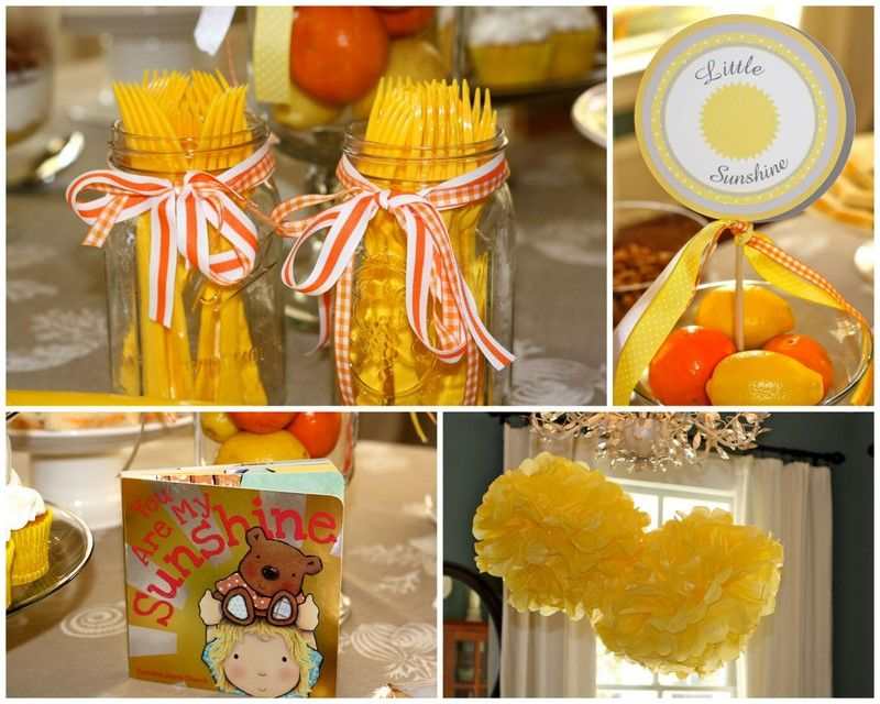 You Are My Sunshine Baby Shower!
