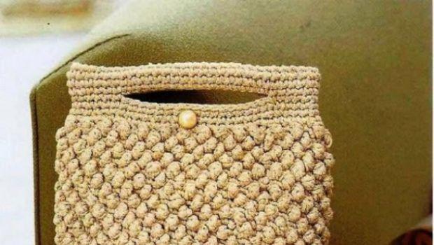 Fare le borse all 39 uncinetto in casa con schemi facili e sfiziosi cose da indossare borse all for Schemi borse uncinetto