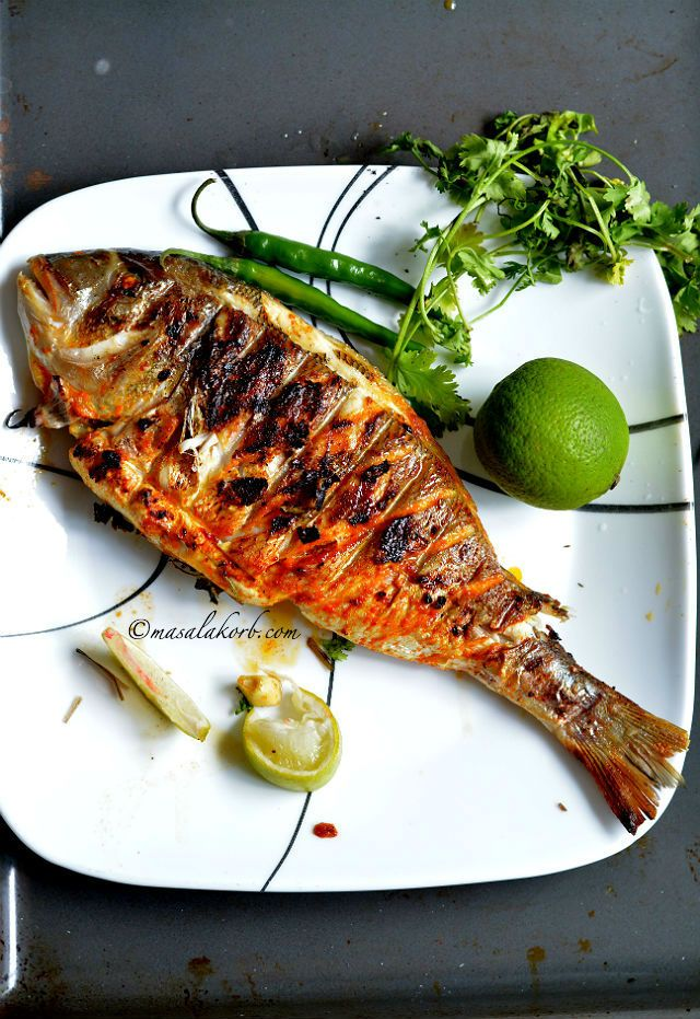 Grilled Fish Indian Recipe Spicy Grilled Fish Indian Style Grilled Fish Masala Recipe Indian Spiced Grilled Whole Fish Grilled Dorade Recipe Grilled Fish Recipes Grilled Fish Indian Food Recipes