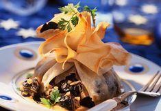Aumônières d'escargots au vermouthVoir la recette des aumônières d'escargots au vermouth
